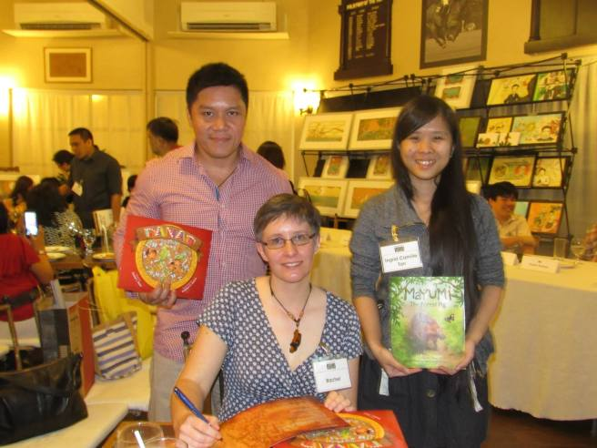 with Jonathan and Ingrid