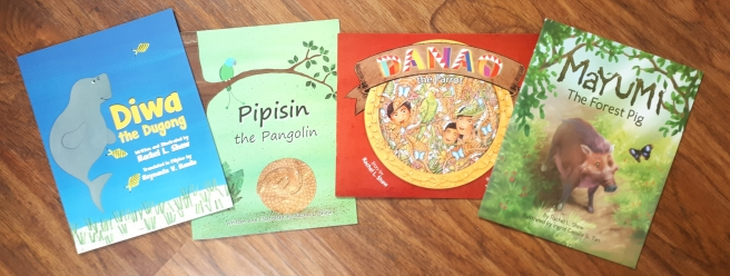 Picture books about Philippine wildlife