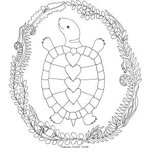 forest-turtle-colouring