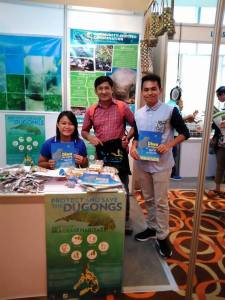 Diwa the Dugong at the First National Biodiversity Congress